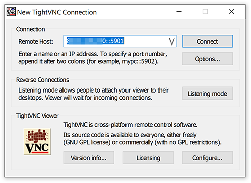 Установка TightVNC Viewer for Windows